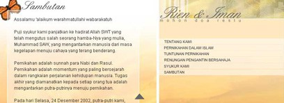 Imansyah Wedding Interactive Profile